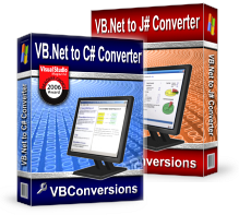 VBConversions VB.Net to C# and J# Converters screenshot